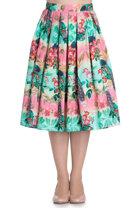 Hell Bunny - Peacock Skirt